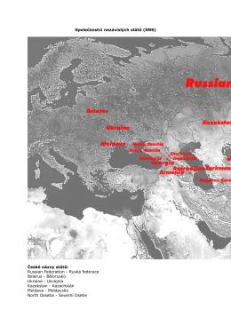 Společenství nezávislých států - UNHCR Central Europe website!
