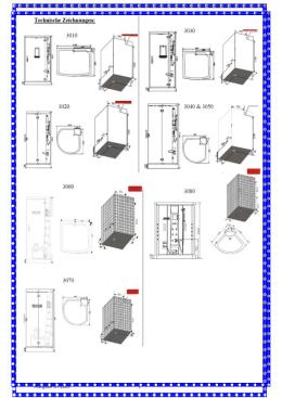 Český návod k montáži a obsluze sprchových, masážních a parních