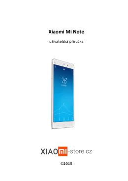 Xiaomi Mi Note - Xiaomi