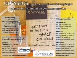Leták Odysseus - Czech Space Office
