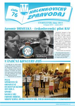 Halenkovický zpravodaj č. 76 / zima 2015