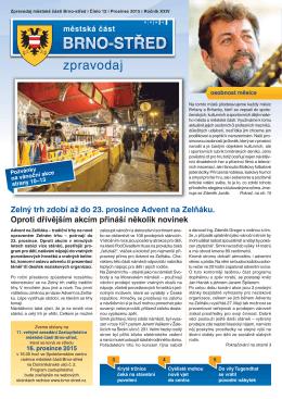 Zpravodaj MČ Brno-střed 12/2015 prosinec