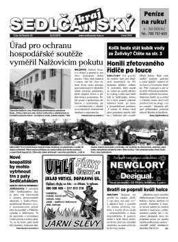 Sedlčanský kraj 16/2015