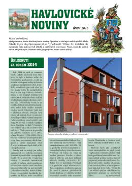 Havlovické noviny 2015