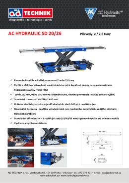 AC HYDRAULIC SD 20/26