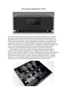 GIGAWATT PC-4 EVO - navratilaudio.cz