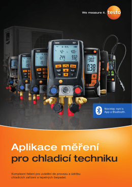 Aplikace mereni pro chladici techniku 215
