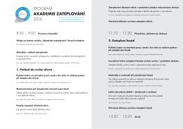 Stáhnout program v PDF