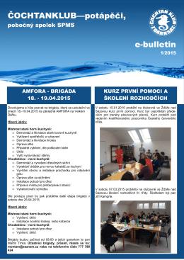 E-bulletin 01/2015