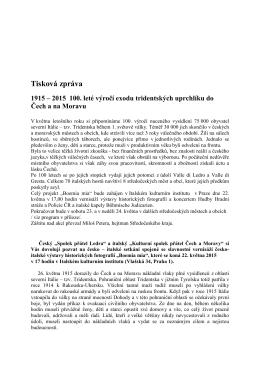 Tisková zpráva - Comune di Ledro