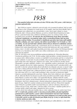 1938-1949 - Kronika Třtice