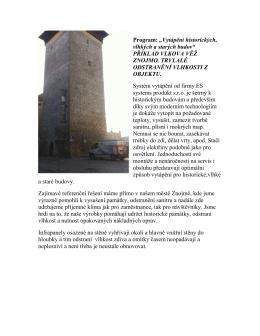 Odstranění vlhkosti ze zdiva úsporný elektropanel