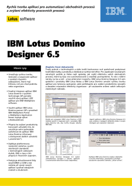 IBM Lotus Domino Designer 6.5