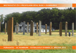 prezentace - Atletický club Rumburk
