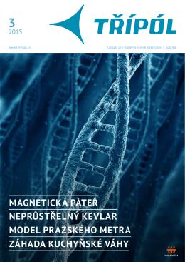 Magnetická páteř neprůstřelný kevlar Model pražského Metra