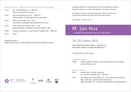 Brožura s programem ()