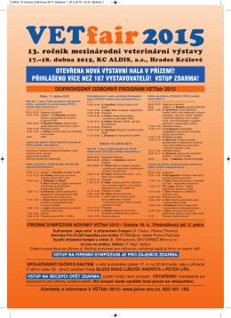 Vetfair 15 inzerce A4 DUBEN 2015