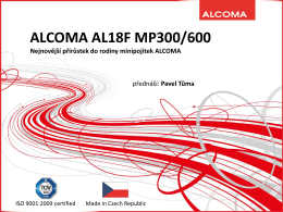 AL18F MP300/MP600 – Full Outdoor – pásmo 18 GHz