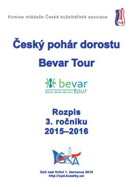 rozlosování - Český pohár dorostu