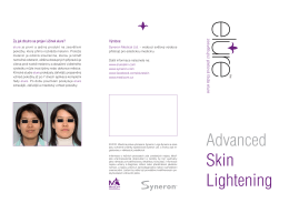 Syneron elure Advanced Skin Lightening