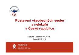 Postavení všeobecných sester a nelékařů v České republice