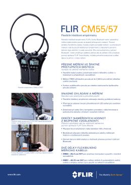 FLIR CM55/57 - FLIRmedia.com