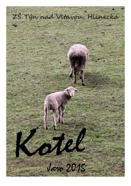 Kotel jaro 2015 (PDF, 0 bytes) - Základní škola Týn nad Vltavou