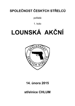 otevřít - Společnost českých střelců