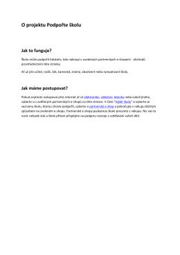 Více informací zde – soubor PDF