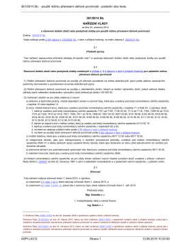 361/2014 Sb. - použití režimu přenesení daňové