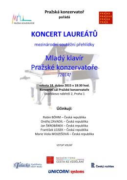 Zde - Mladý klavír Pražské konzervatoře