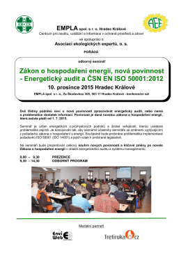 pozvánka - Empla AG spol. s ro