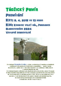 Tádžický Pamír