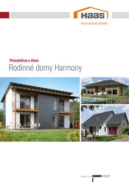 Rodinné domy Harmony