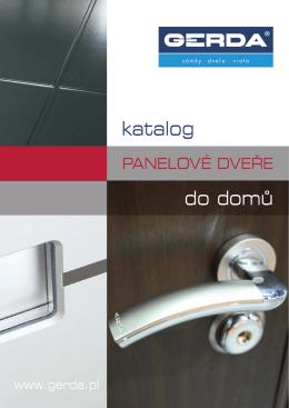do domů katalog - Bezpečnostní dveře