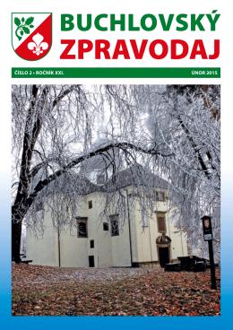 Buchlovský zpravodaj - ÚNOR 2015