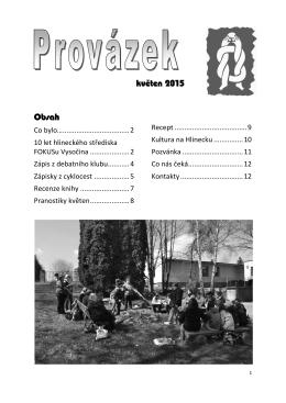 Provázek 2015-5 - FOKUS Vysočina