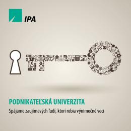 Stiahnuť brožúru - podnikatelskauniverzita.sk