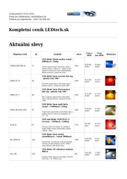cenník PDF - LEDtech.sk