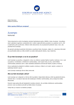 Zurampic, INN-lesinurad - European Medicines Agency