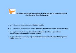 Inštrukcie k odovzdávaniu záverečných prác (formát pdf)