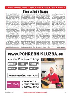 Strany 25–40 - Plzeňský ROZHLED