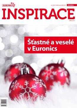 Šťastné a veselé v Euronics