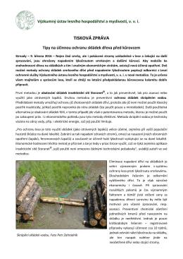 Tipy na účinnou ochranu skládek dřeva před kůrovcem