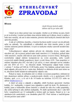 Zpravodaj 3 16 - Obec Stehelčeves