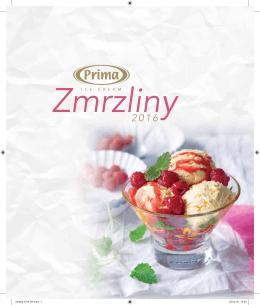 Katalog Zmrzliny Prima 2016