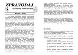 zpravodaj - Rudná pod Pradědem