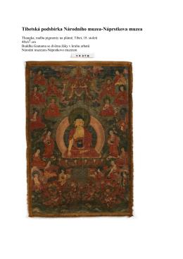 Tibetská podsbírka Národního muzea