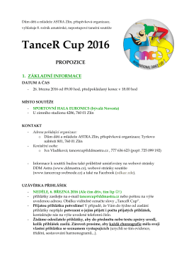 TanceR Cup