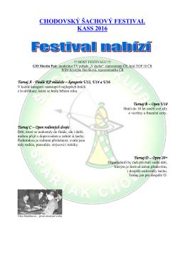 chodovský šachový festival kass 2016